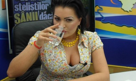 Anca Cârcu, sexy-politiciana, întâlnire de proporţii cu Vadim Tudor