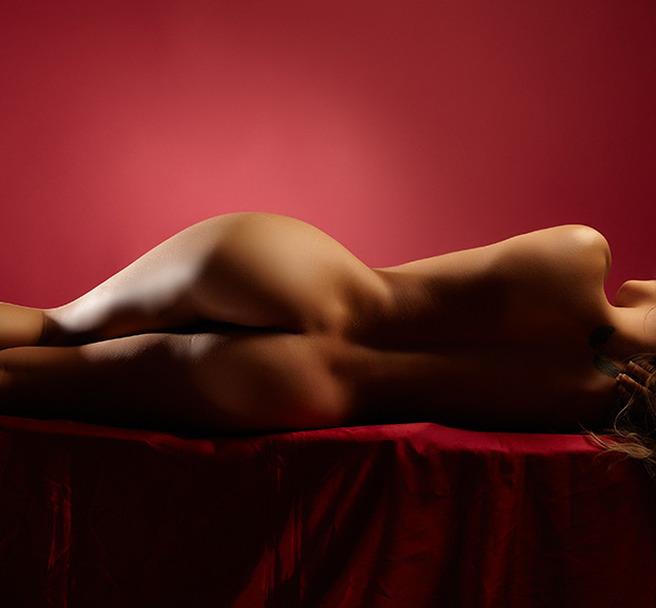 detaliu de masaj erotic